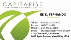 capitarise_business card