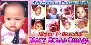 MaryGrace-Christening&1stBday