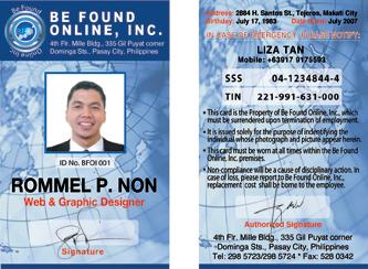 id & logo design layout | creative design makati