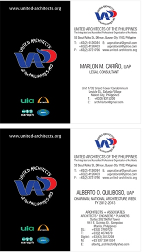 UAP-Callcards