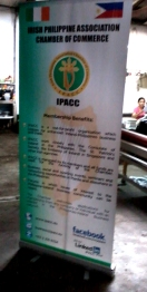 IPACC - Tarpaulin Printing with Roll Up Stand