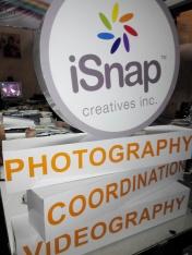iSnap Creatives - Sticker on Sintra Board Mock-Up