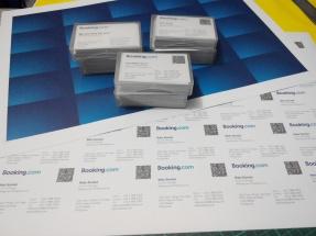 Booking.com - Business Card Printing