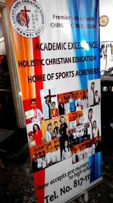 Makati Hope Christian School - Tarpaulin Printing with Roll-Up Stand